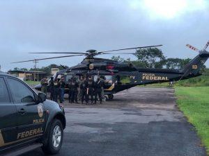 PF deflagra operação contra crimes ambientais em municípios do Amazonas