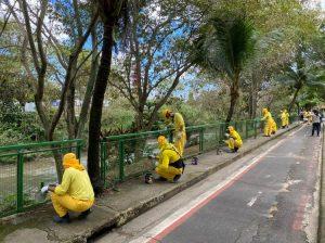Detentos iniciam revitalização do Passeio do Mindu em Manaus