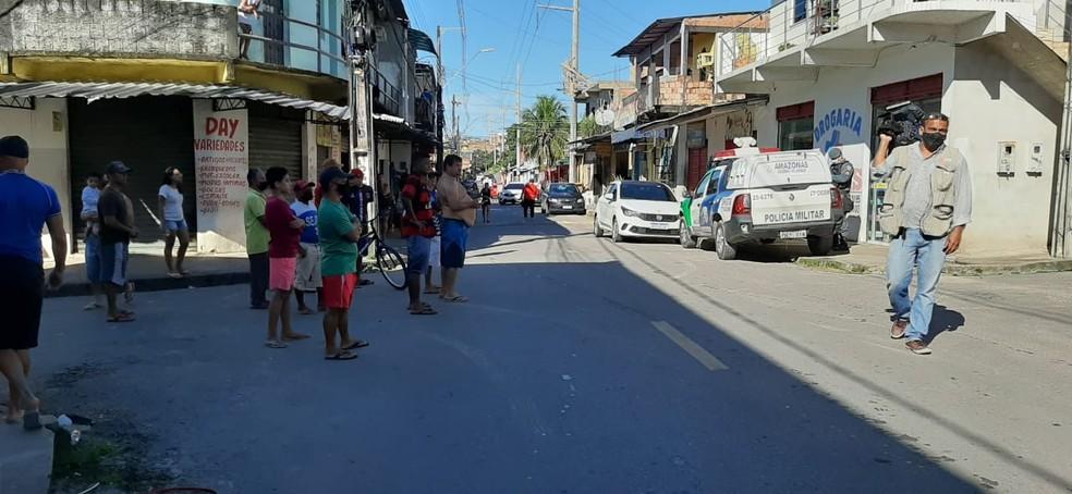 Golpe do falso sequestro mobiliza policiais e helicóptero em Manaus