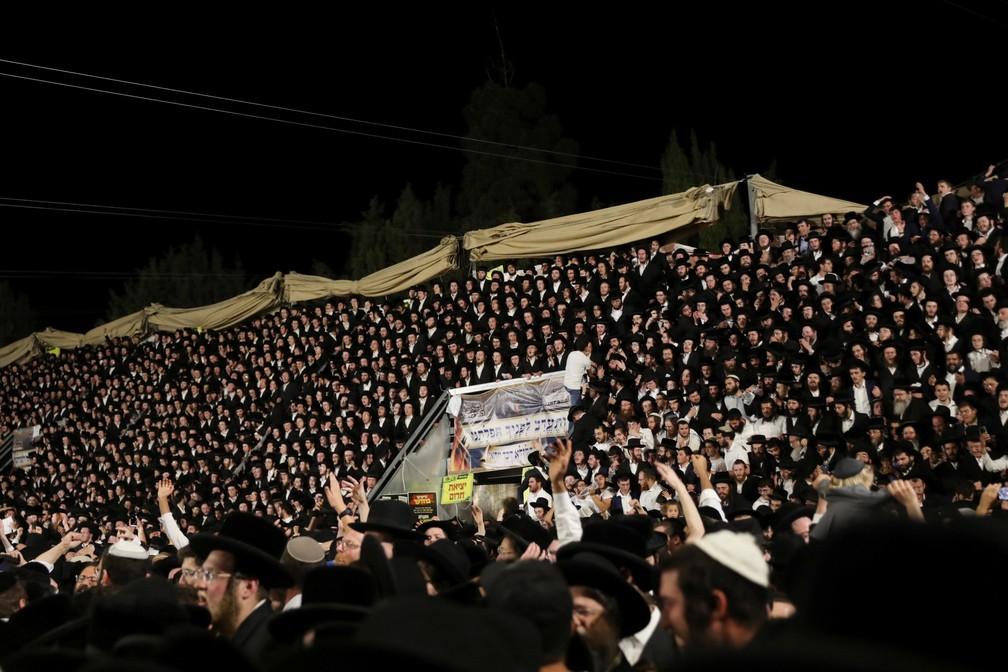 Tumulto em festival religioso em Israel deixa 45 mortos e mais de 100 feridos