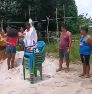 Crianças usadas em ritual religioso são resgatadas pela Polícia no Pará