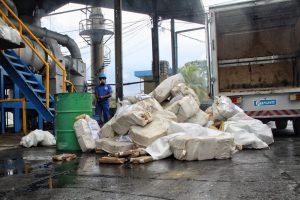 Duas toneladas de drogas são incineradas em Manaus
