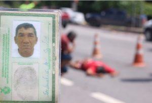 Idoso de 65 anos morre atropelado na Zona Norte de Manaus