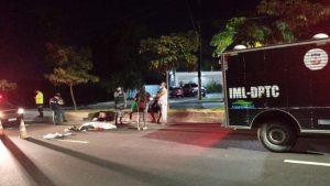 Em Manaus, frentista morre após perder direção da moto e bater a cabeça