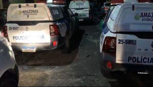 Foragido é baleado durante tiroteio em área vermelha de Manaus