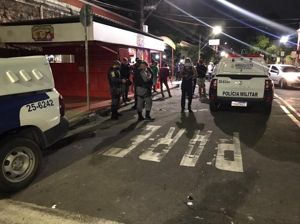 Três são mortos a tiros no Centro de Manaus